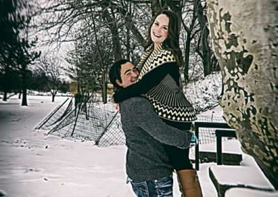 Hoyt Lake Engagement pictures