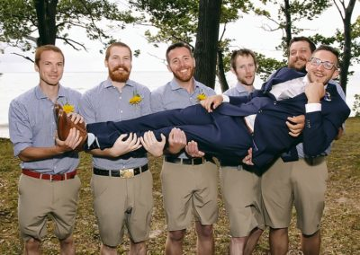 camp pioneer wedding