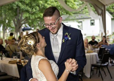 camp pioneer wedding